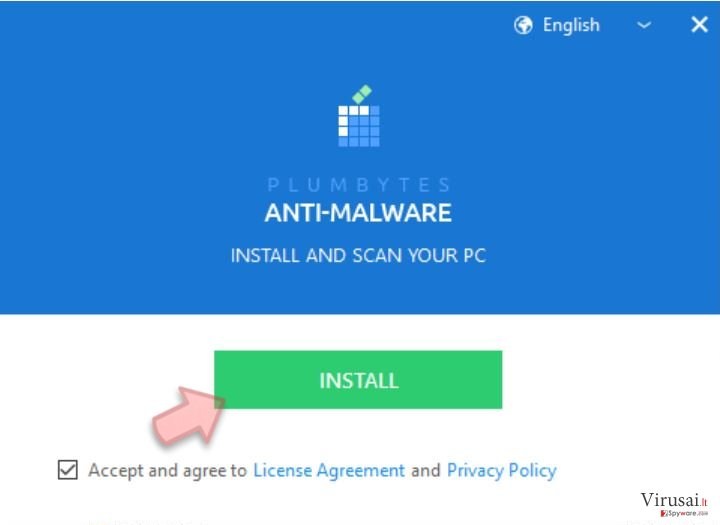 Plumbytes Anti-Malware installer