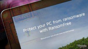 Yeni anti-fidye yazılımı aracı: RansomFree şifreleme teşebbüsünü farkettiği anda virüsün haraketine son verir
