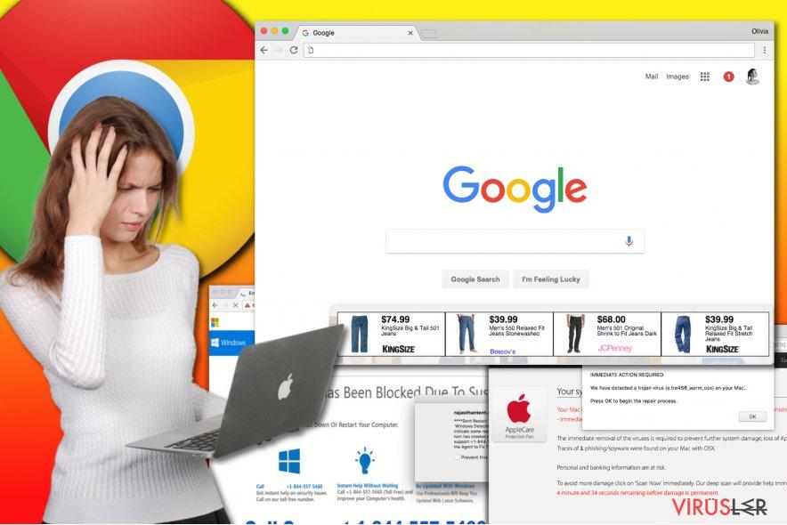 Chrome reklam yazılımı