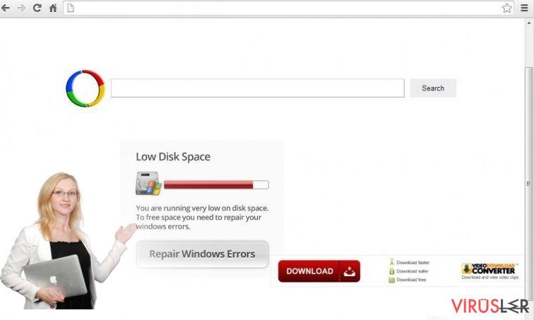 Chrome redirect virus bellek kopyası