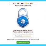 CryptoWall virüsü bellek kopyası