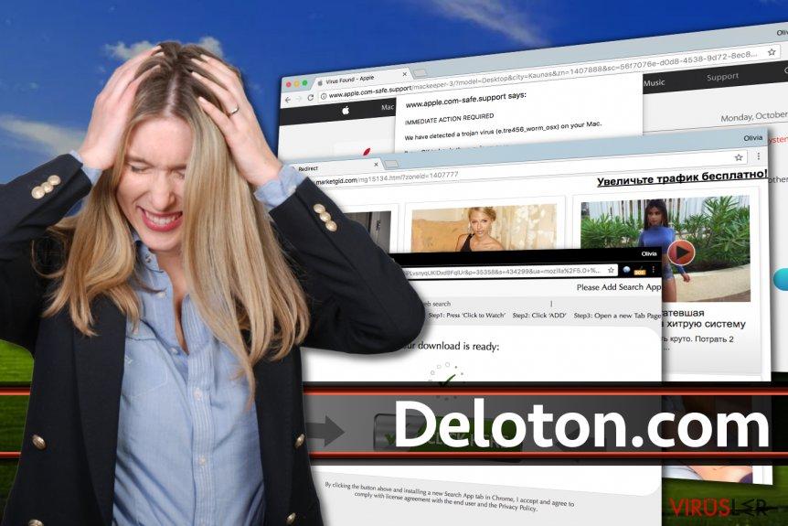 Deloton.com reklamları