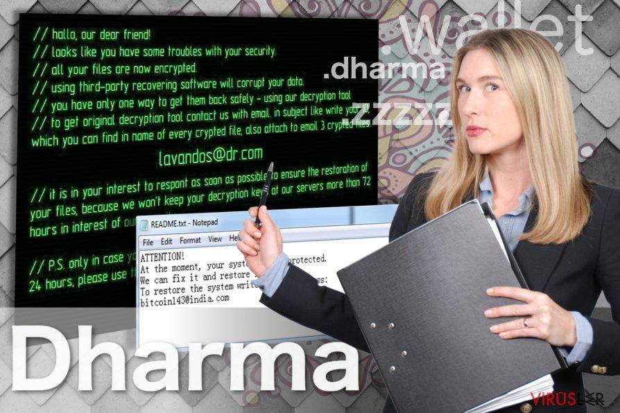 Dharma fidye virüsünün resmi