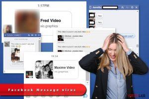 Facebook Message virüsü