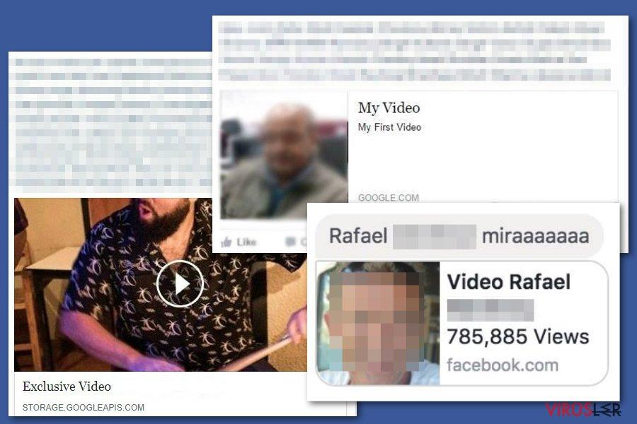 Facebook video virüsü bellek kopyası
