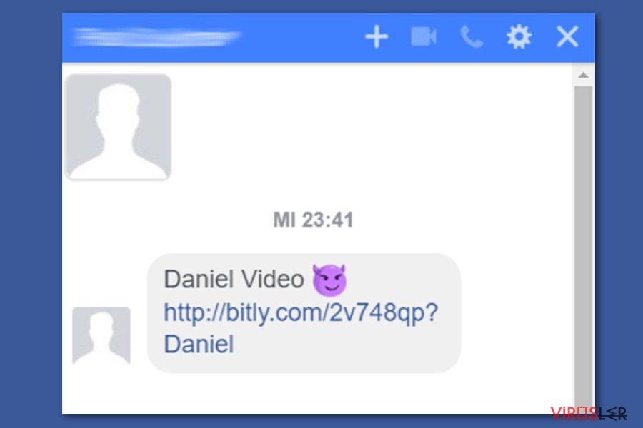 Facebook video virüsü