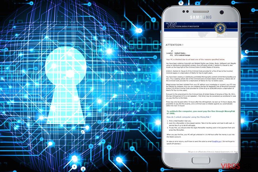 FBI Green Dot Moneypak Virus bellek kopyası