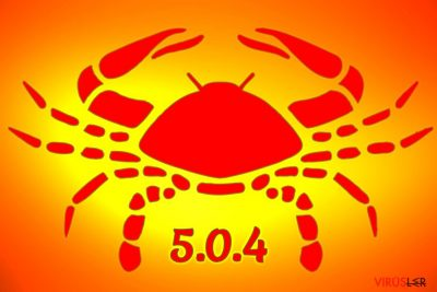 GandCrab 5.0.4 fidye yazılımı