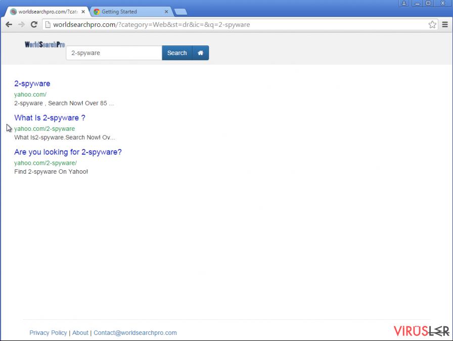 Google yönlendirmesi