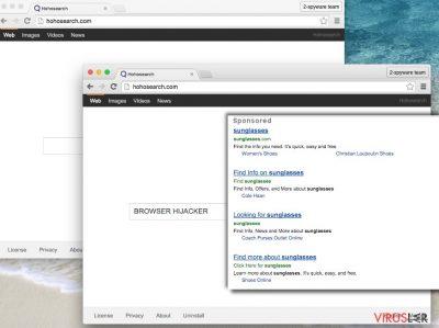 Hohosearch.com virüsü