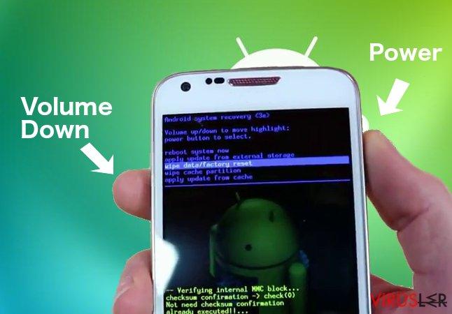 Android fidye yazılımı bellek kopyası