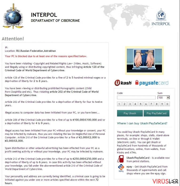 Interpol virüsü