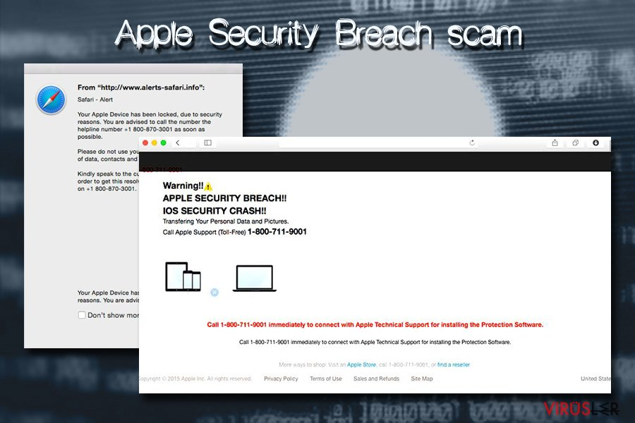 Apple Security Breach Mac virüsü