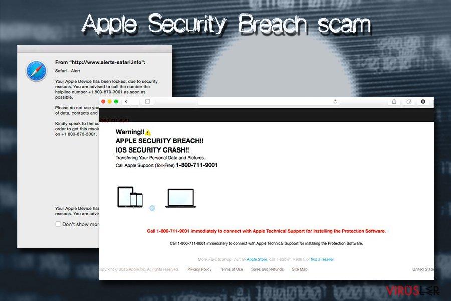 Apple Security Breach Mac virüsü