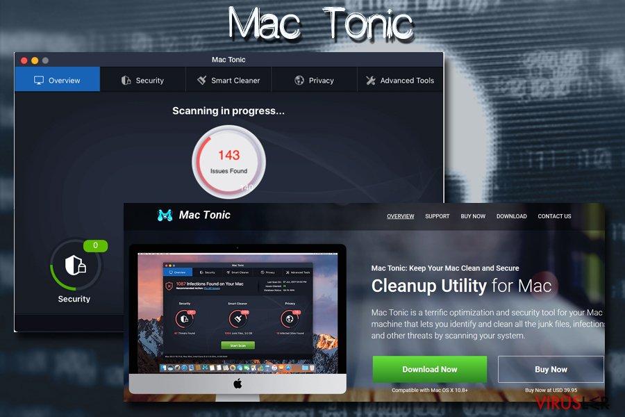 Mac Tonic Mac virüsü