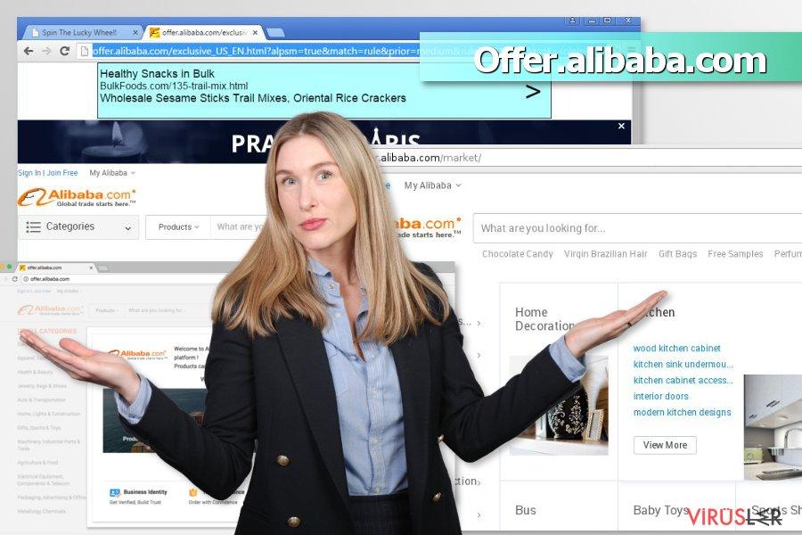 Offer.alibaba.com reklamları bellek kopyası