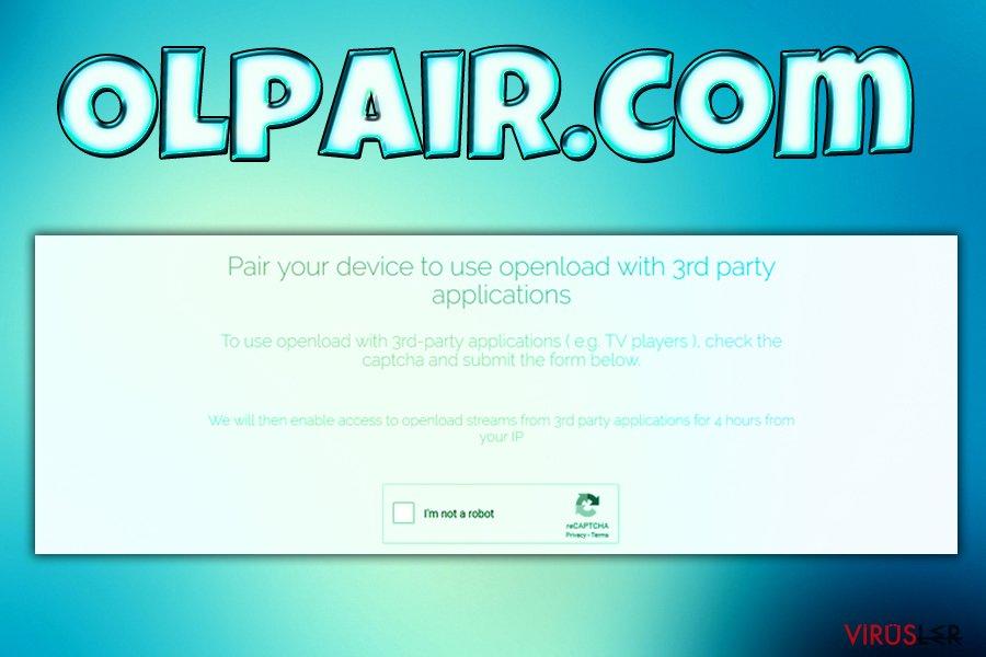 Olpair.com virüsü