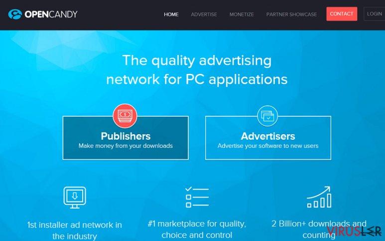 OpenCandy reklamları bellek kopyası