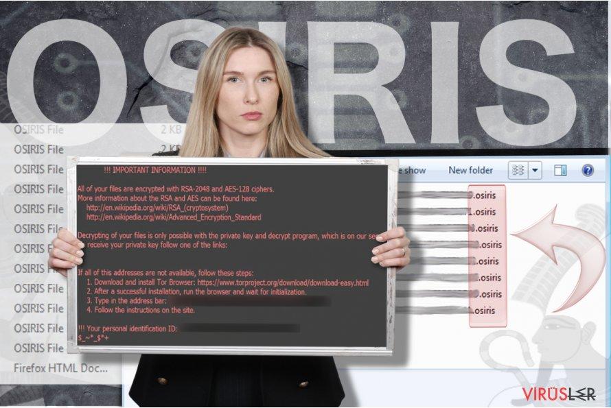 Osiris Fidye Virüsü bellek kopyası