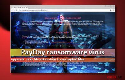 PayDay virüsü resmin