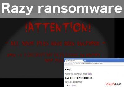 Razy ransomware virus