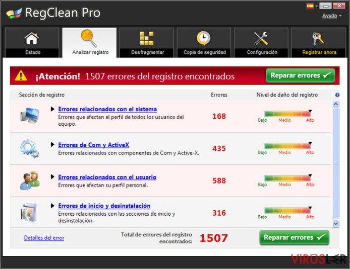 RegClean Pro bellek kopyası