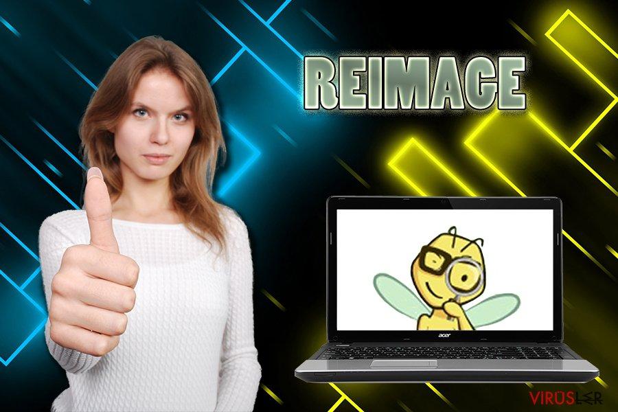 Reimage virüsü bellek kopyası