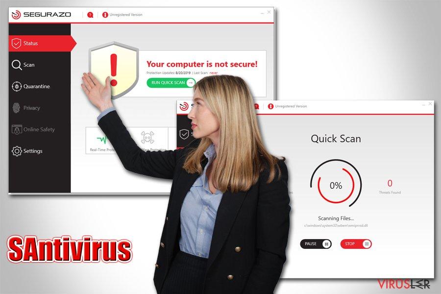 SAntivirus virüsü