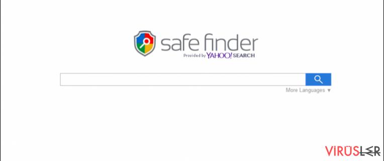 Search.SafeFinder.com bellek kopyası