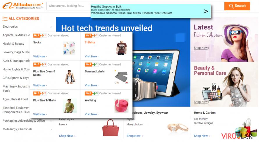 Offer.alibaba.com reklamları