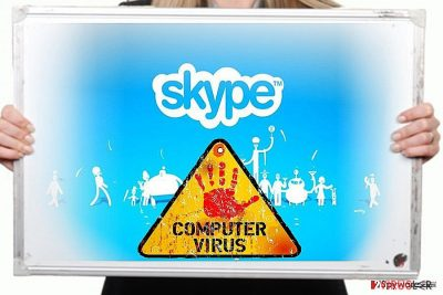 Skype virus