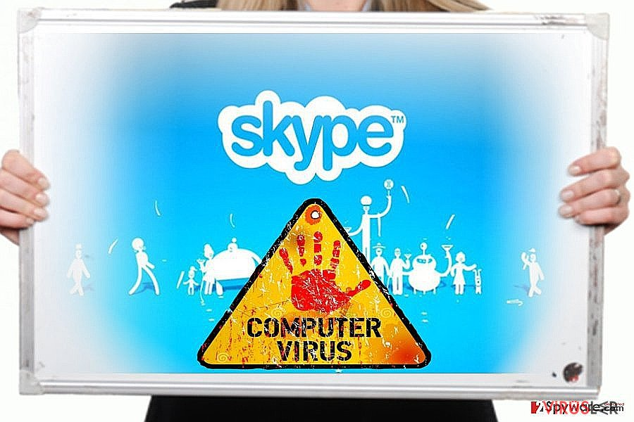 Skype virüsü bellek kopyası