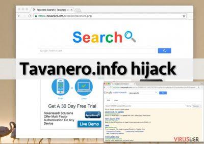 Tavanero.info virus