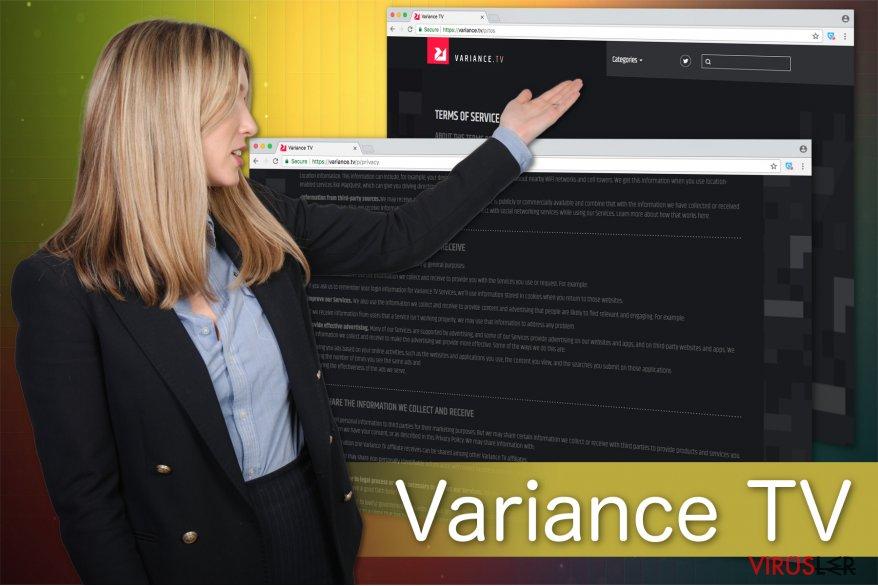 Variance TV virüsünün ilüstrasyonu
