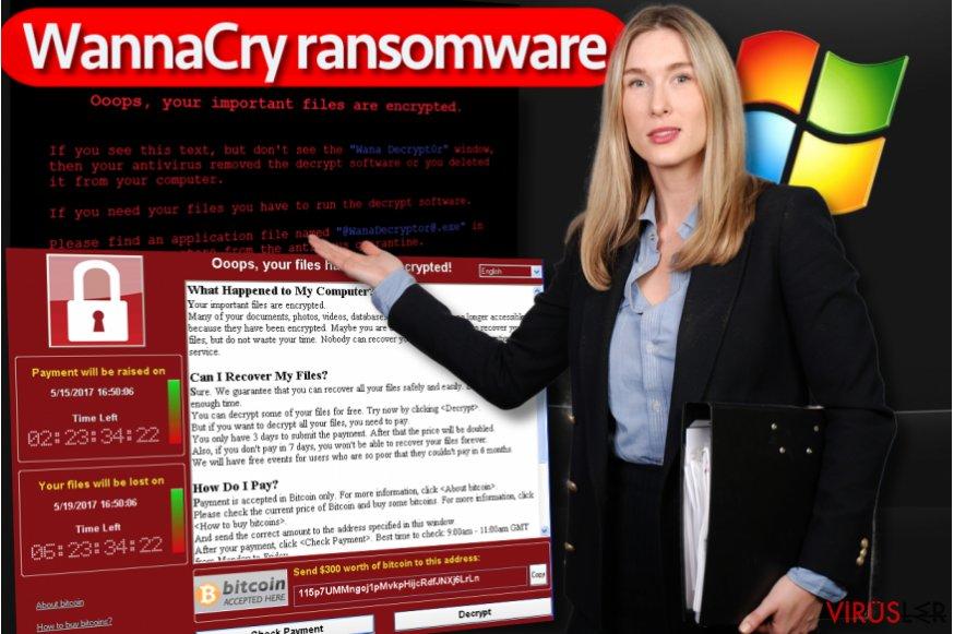 WannaCry fidye yazılımı