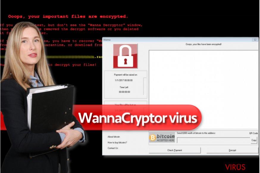 WannaCryptor fidye yazılımı virüsü