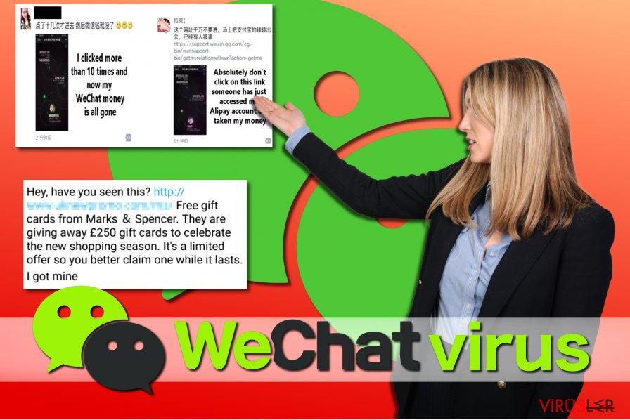 WeChat virüsü örnekleri