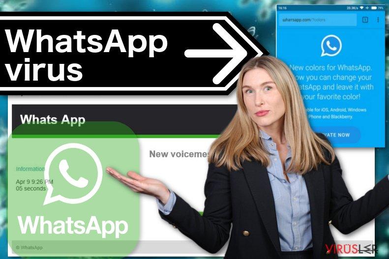 WhatsApp virüsü örneği