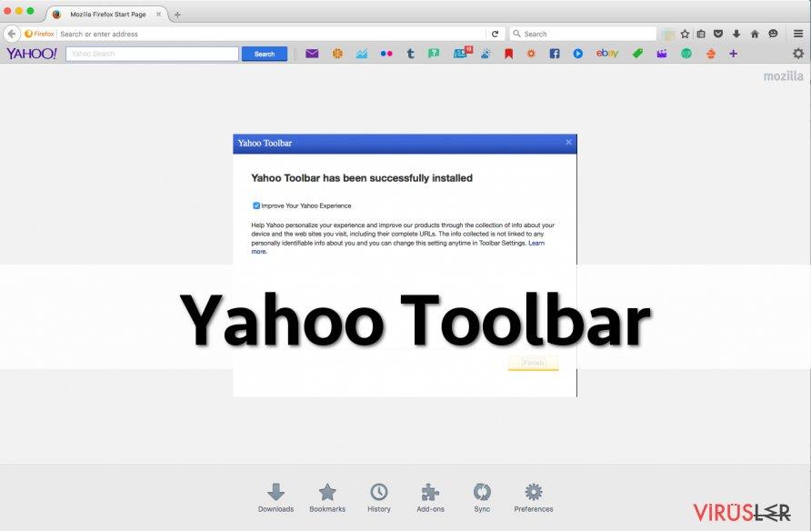 Yahoo Araç çubuğu bellek kopyası