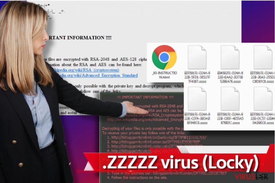 Zzzzz fidye yazılım virüsü